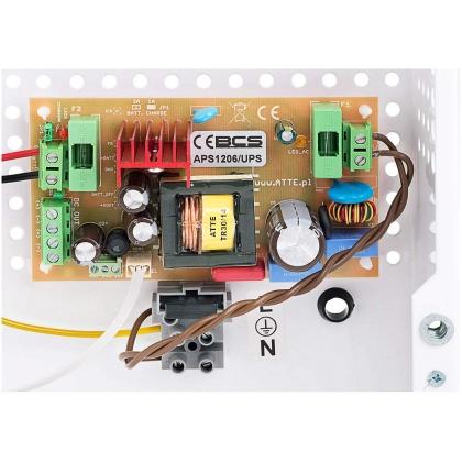 BCS-ZA1206/UPS Zasilacz buforowy impulsowy 72W płytka elektroniki