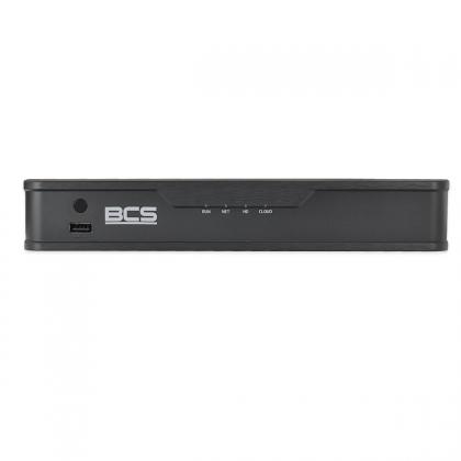 BCS-P-NVR0401-4k-E sieciowy rejestrator 4 kanałowy IP