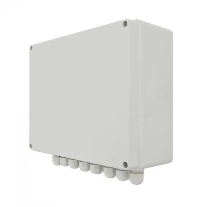 BCS-IP8Gb/Z/E-S System zasilania do 8 kamer IP ze switchem PoE w obudowie zewnętrznej