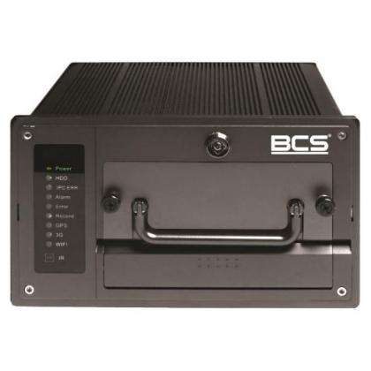 BCS-NVR0802C-P-III BCS przenośny rejestrator sieciowy 8 kanałowy IP