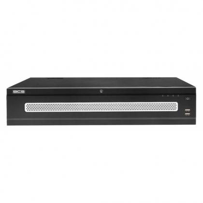 BCS-NVR12808-4K-RR BCS Pro rejestrator sieciowy 128 kanałowy 4K