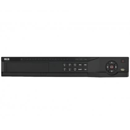 BCS-NVR1604-4K-P-III BCS rejestrator sieciowy 16 kanałowy IP do 12Mpx PoE x16