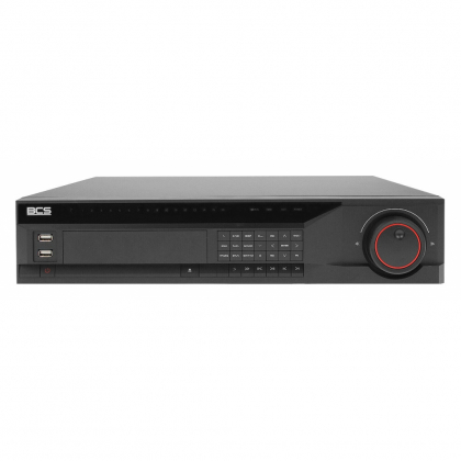 BCS-NVR6408-4K-Ai BCS Pro rejestrator sieciowy 64 kanałowy IP 4K AI