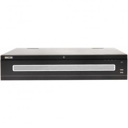 BCS-NVR6408R-4K-RR BCS rejestrator sieciowy 64 kanałowy IP 4K