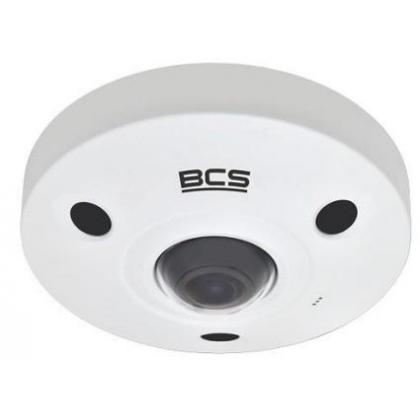 BCS-SFIP21200IR-AI BCS Pro kamera inteligentna IP fisheye 12Mpx IR 10M