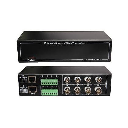 BCS-UHD-TR8-RE odbiornik 8 kanałowy do konwerterów UHD-TR1S-TR video po skrętce