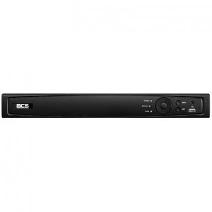BCS-V-NVR0801-4KE BCS View rejestrator IP 8 kanałowy do 8Mpx