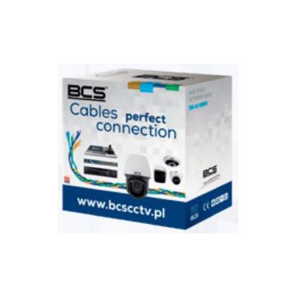 BCS-U/UTP-CAT5E-LSOH[1m] BCS Basic kabel U/UTP kat.5E skrętka nieekranowana
