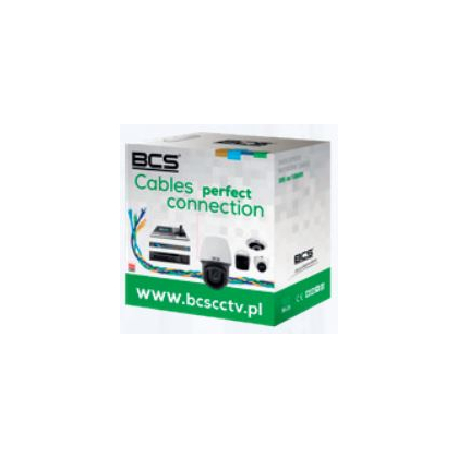 BCS-U/UTP-CAT6-LSOH[1M] BCS Basic kabel U/UTP kat.6