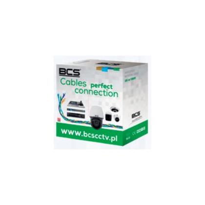 BCS-U/UTP-CAT6-PVC[1M] BCS Basic kabel U/UTP kat.6