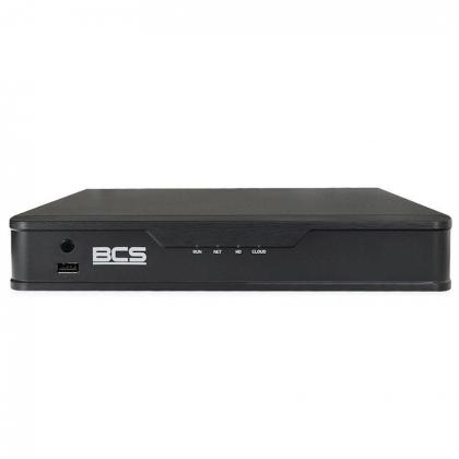 BCS-P-NVR0801-8P-E-II BCS Point rejestrator sieciowy 8 kanałowy do 6Mpx