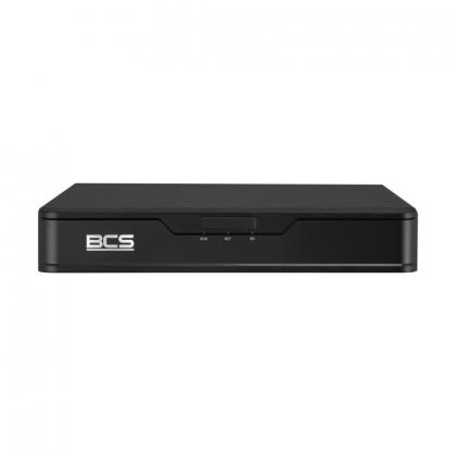 BCS-P-NVR0801-E-II BCS Point sieciowy rejestrator 4 kanałowy IP