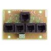 BCS-AVPI moduł dystrybucji wideo i zasilania po UTP 4 kanałowy
