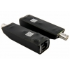 BCS-xCOAX/IP zestaw aktywnych konwerterów do transmisji Ethernet oraz PoE po koncentryku