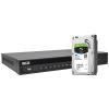 Zestaw BCS5 do monitoringu IP BCS Line rejestrator 16-kanałowy dysk 2TB SKYHAWK