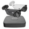 Zestaw BCS6 do monitoringu 5w1 BCS Line rejestrator 4-kanałowy 4x kamera tubowa 5Mpx