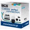 BCS-U/UTP-CAT5E-PE[1m] BCS Basic kabel U/UTP kat.5E skrętka nieekranowana