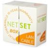 Przewód NETSET BOX UTP 5e skrętka wewnętrzna [305m]